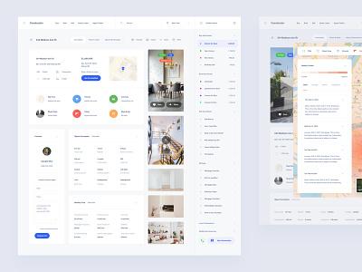 Rental Dashboard compontents figma web dashboard ui sketch ux download ui kit