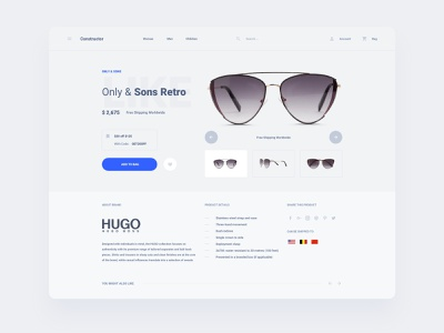 Watch Store Template components figma design web dashboard ui sketch ux download ui kit