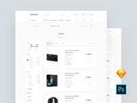 Category Commerce UI