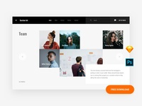Team Web template