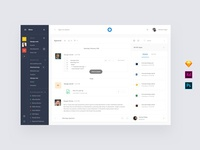 Chats Dashboard Templates