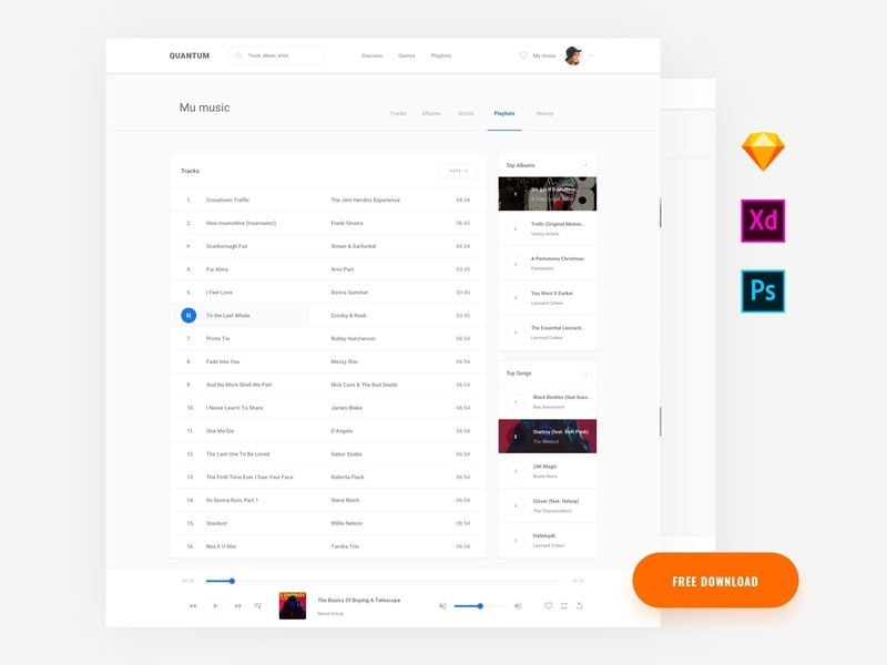 Free Template by Live Spline one on Dribbble