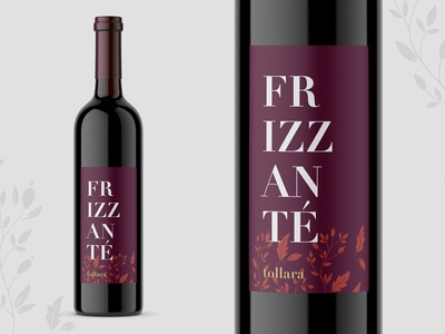 Frizzante Wine Label
