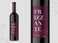Frizzante Wine Label