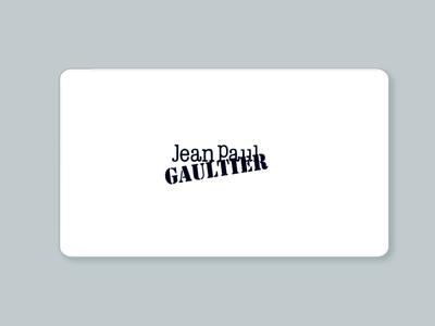 Homepage - Jean Paul Gaultier Ecommerce Website