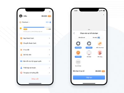 Roab -  Traffic Rescue app concept