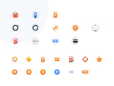 Play with icons