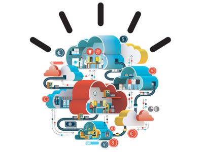IBM - Smarter Cloud  ibm cloud isometric info