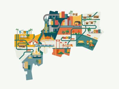 Bankok Map