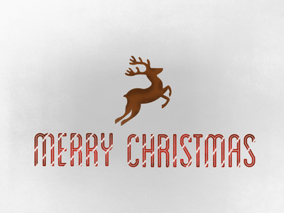 Merry Christmas, Dribbble [Gifting 2 Invitations to Dribbble!] dribbble christmas deer reindeer invite giveaway merry christmas follow me
