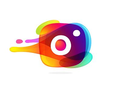 Small fun project photo app instagram colorful icon mark logo