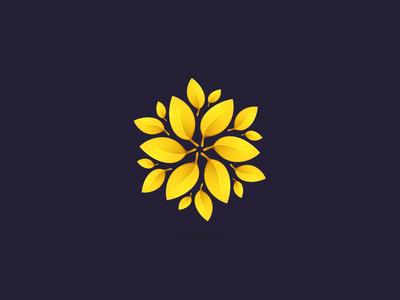 Gold laurel wreath star icon logo wreath laurel award gold