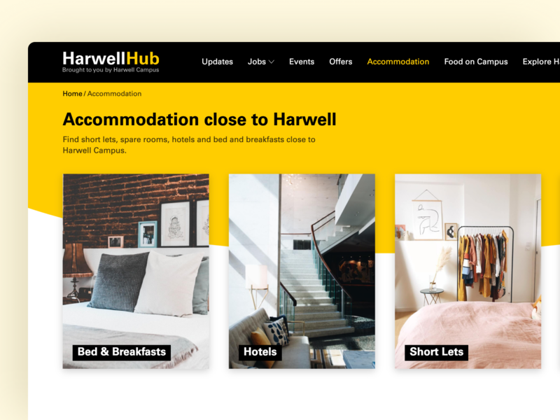 Harwell Hub Accommodation hotel accomodation