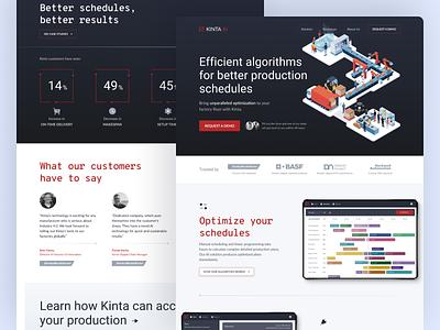 Artificial Intelligence Homepage saas marketing campaign artificialintelligence startup marketing site