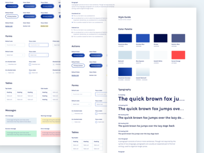 Link Style Guide brandguide brand guide buttons colours forms message styleguide style guide style tile typography