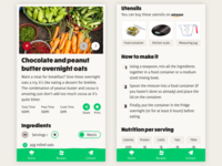 KitchenPal mobile recipe page