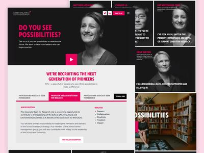 Nottingham Trent University Campaign Home Page