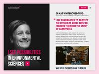 Nottingham Trent University Campaign Case Study Page