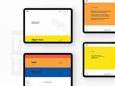 Web Design - Free Font Index typography ui branding website webdesign