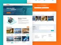 Web design for Arctic Exposure
