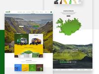 Web design for Icelandic Waste Management