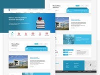 Elementary school web design