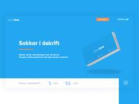 Landing page for Sockbox