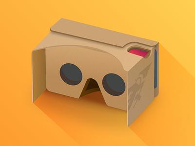 Google Cardboard illustration google cardboard