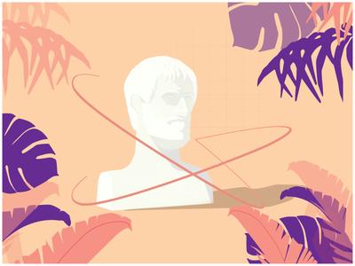 Psychological Rules- Blogspot Illustration flowers summer psychology blog illustration illustration