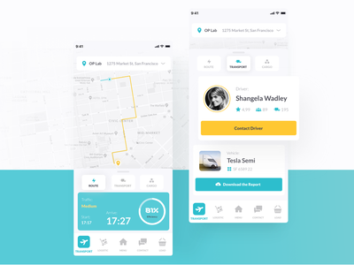 What you can do with Liquid – Vol. 3 📱 design tesla healthcare ui ux application app cars transport trucks tracking mobile dashboard what you can do with liquid liquid design system