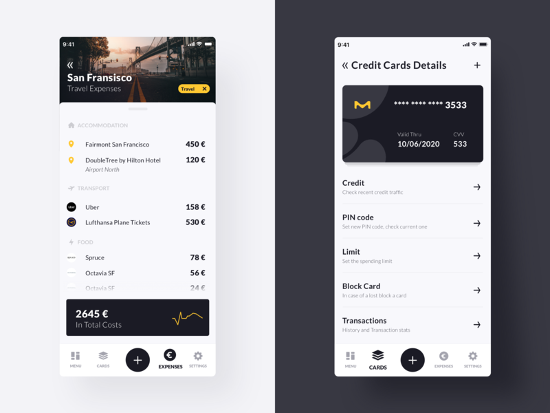 Travel Expense App 💶