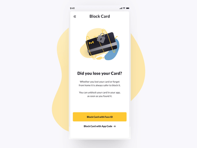 Travel Expense App- Card Blocking 💳