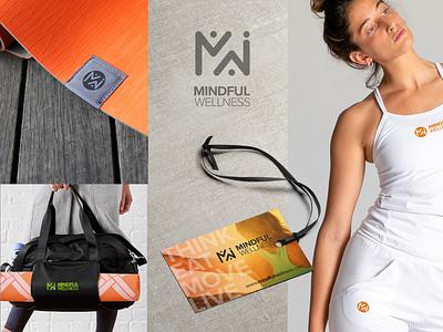 Mindful Wellness - Branding icon icon design logo mark logo illustration branding logo design