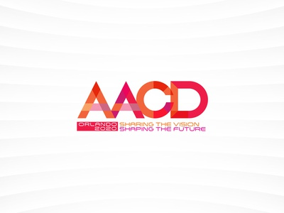 AACD STYLE GUIDE 2020 - Branding - logo - icons for Conference campaign design tradeshow design branding