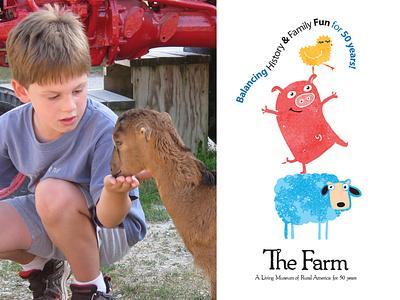 The Farm - Illustrations for kids design illustration kids line branding