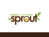 Sprouts branding icon By ce Designs