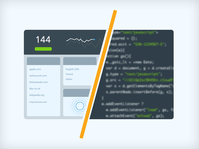 Numbers behind the new GoSquared gosquared analytics avenir dashboard metrics real-time code engineering