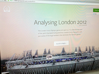 Olympic Infographic olympic infographic html css parallax jquery effect data visualization london 2012 olympics