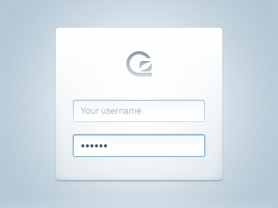 Our New Login Form login form ux redesign gosquared keira fields einstein troll drop tables winning ali g