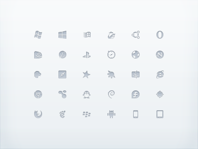 Free Browsercons (16px, 32px, 64px) browser icons gosquared free 16 32 64 internet explorer is great