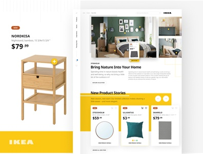 IKEA 2020 Concept earth tones shopping ecommerce bedroom wood natural earthy green furniture website furniture ikea interface design website web design interface design ui ux ux user interface user experience