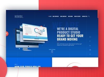 Digital Product Studio - Landing Page