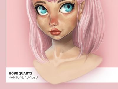 Pantone Girl -Rose Quartz