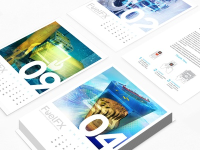 AR Desk Calendar Deck design oil and gas 3d modeling 3d art calendar mockup christmas package client work client presents branding and identity graphic arts print designer print design artifact uprising calendar design calendar bop cutaway 3d model graphic art graphic  design