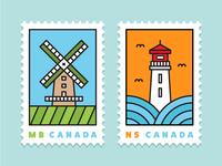 Minimal Stamp Series