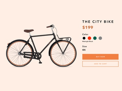 Daily UI 033: Customize Product