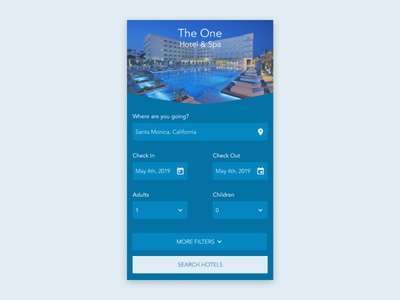 Daily UI 067: Hotel Booking