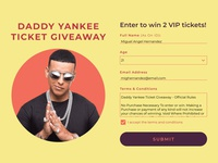Daily UI 097: Giveaway