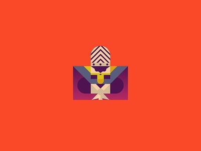 Mojo jojo characterdesign character graphicdesgn graphic vector illustrator gradient cartoon powerpuff girls mojo jojo