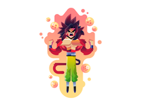 Goku saiyajin IV / サイヤ人